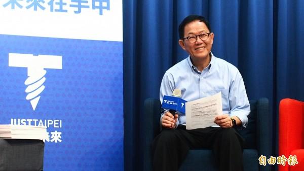 國民黨台北市長參選人丁守中。(記者簡惠茹攝)