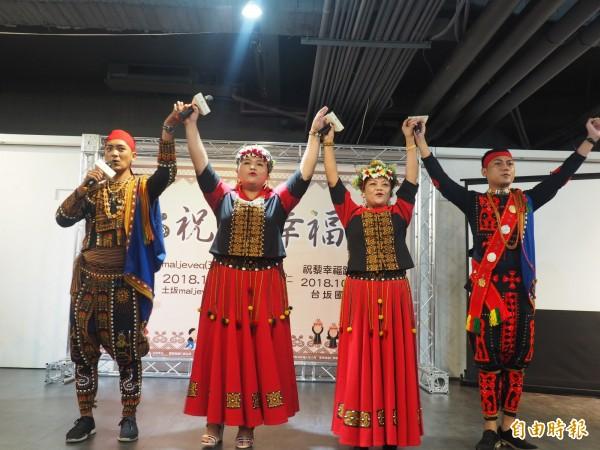 達仁鄉公所邀民眾10月到達仁了解排灣族文化及參與路跑活動。(記者王秀亭攝)