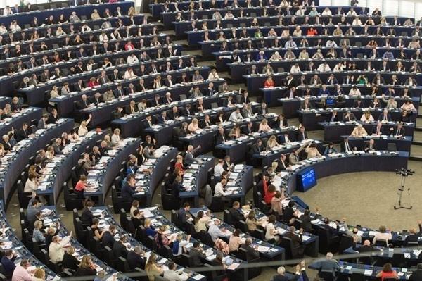 歐洲議會正於法國史特拉斯堡舉行全會,通過「歐中關係報告」決議案,呼籲歐盟及其會員國遏止中國武力挑釁台灣與破壞台海和平穩定。(資料照,歐新社)