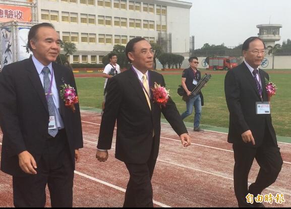 法務部長蔡清祥證實由呂文忠出任調查局長。(記者顏宏駿攝)