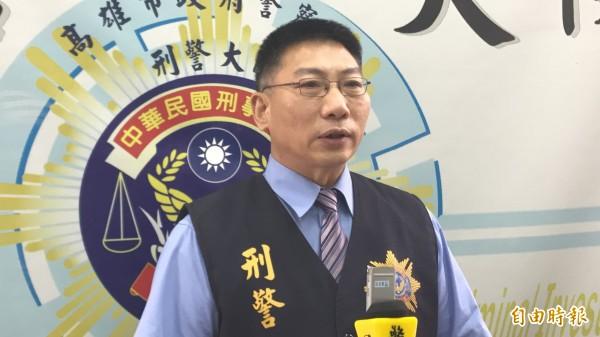 刑大專員陳榮輝資深且表現穩健,升任偵四隊隊長。(記者黃良傑攝)