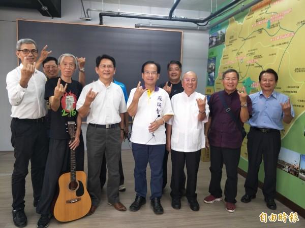 蘇煥智為培養表演人才和聽眾,將舉辦音樂祭。(記者邱灝唐攝)