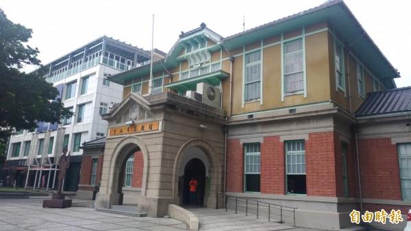 虎尾文化四館中的雲林布袋戲館。(記者廖淑玲攝)