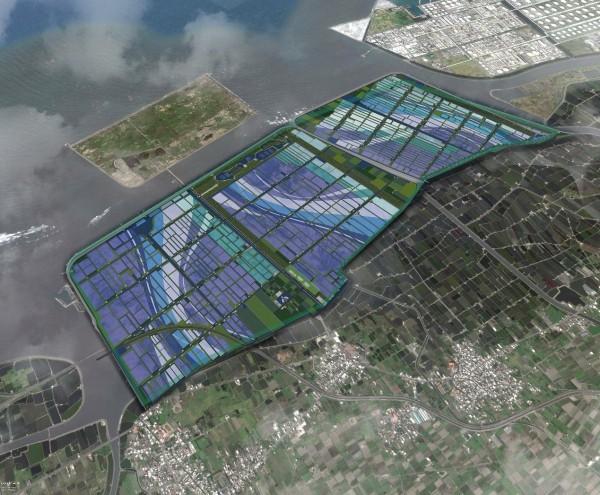 縣府推動台西綠能專區開發計畫案,可望成為亞洲最大的綠能專區。(記者詹士弘翻攝)