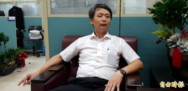 起訴馬英九特別費案的高檢署檢察官侯寬仁指出,被「冰凍」也不後悔,他把吃苦當做吃補。(記者楊國文攝)