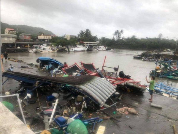 山竹颱風為大武帶來不小災情。(民眾提供)