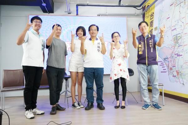 蘇煥智9月30日舉辦「煥醒音樂祭」,今天(20日)召開記者會介紹籌辦人員和表演團體。(蘇煥智辦公室提供)
