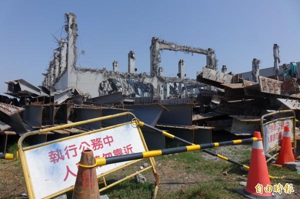 彰化縣今年初,大動作拆除違規農地工廠。照片與新聞內容無關。(資料照,記者劉曉欣攝)