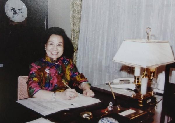 婦聯會前主委辜嚴倬雲涉犯搬運婦聯會170箱資料銷毀,被黨產會告發後,至今仍在美國未返回台灣。(資料照)