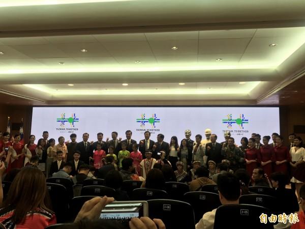 蔡碧仲今赴立法院參加國慶記者會。(記者蘇芳禾攝)