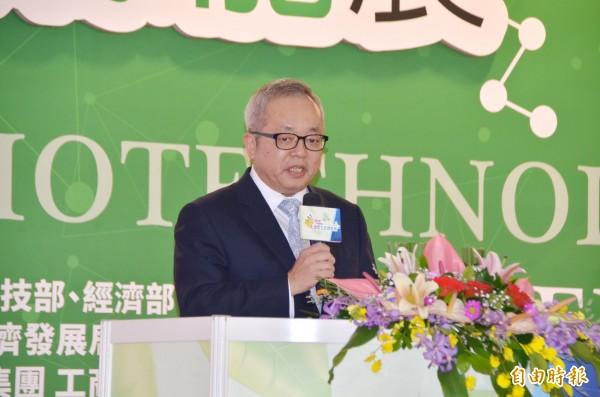 行政院副院長施俊吉專程南下剪綵。(記者吳俊鋒攝)