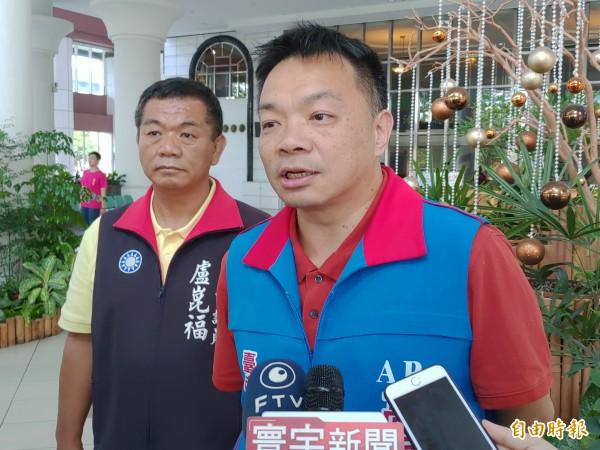 國民黨台南市長參選人高思博。(資料照,記者蔡文居攝)