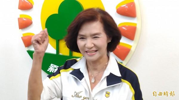 綠委到監察院告發林姿妙(如圖)涉嫌濫權瀆職,羅東鎮公所發聲明反擊是不實指控。(記者江志雄攝)