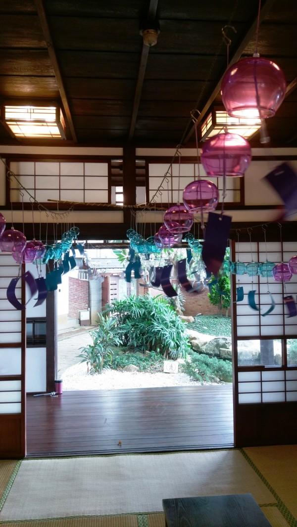 10月13日舉辦「彩繪風鈴」工作坊,歡迎體驗日式風情。(淡水古蹟博物館提供)