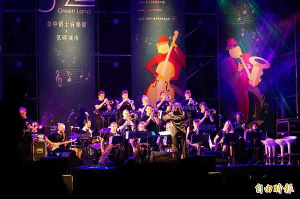 曾和蘇打綠合作的指揮Bernd Ruf,今年將以Bernd Ruf MHL Vocalband feat. Peter Lehel重回主舞台。(記者何宗翰攝)