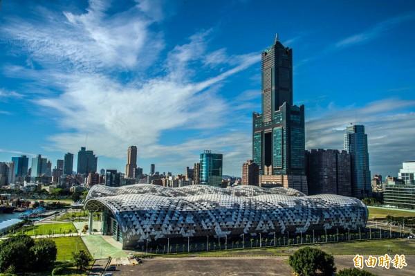 高雄曾獲評「2018全球最值得旅遊」城市。(記者張忠義攝)
