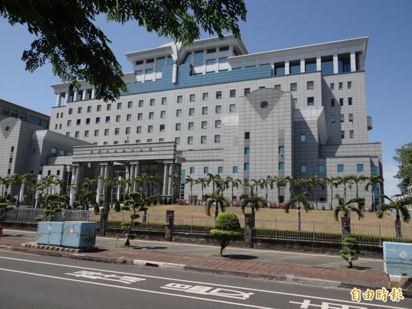 台南地方法院。(資料照,記者王俊忠攝)