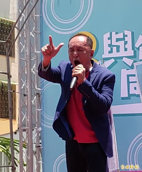 無黨籍台南市長候遭人林義豐。(資料照)