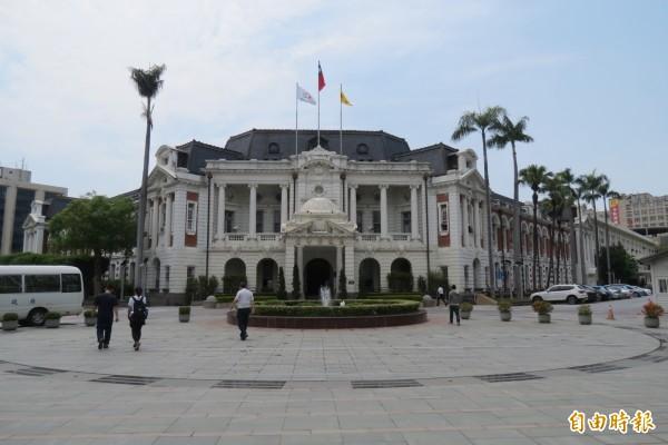 台中知名地標「台中州廳」將升級成國家級「國美館台中州廳園區」展館。(記者蘇孟娟攝)