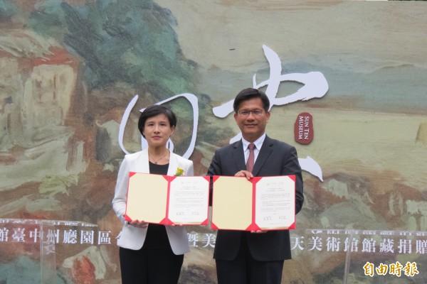 文化部與台中市合作推動將台中知名地標「台中州廳」將升級成國家級「國美館台中州廳園區」展館。(記者蘇孟娟攝)