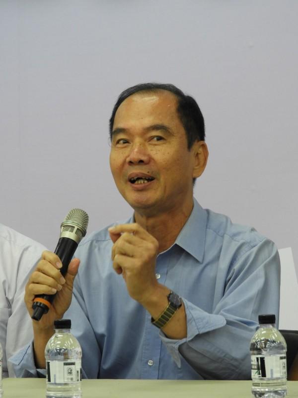 高雄市總工會副理事長蔡維碧。(記者葛祐豪攝)