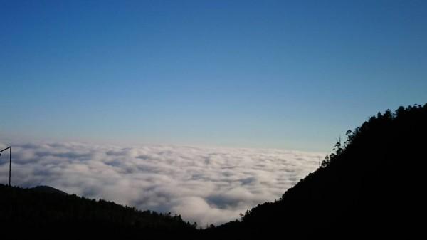 太平山壯觀的雲海。(圖由黃清漢提供)