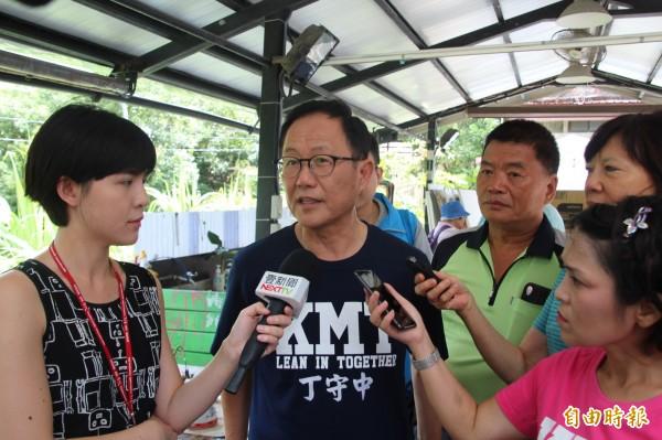 丁守中說,自己感受到談市政不受到媒體青睞,「搔搔頭、搞笑反而得到更多媒體的鎂光燈」,這是台灣政治面臨的嚴重問題,政治人物都不深思熟慮,反而都是短線炒作。 (資料照)