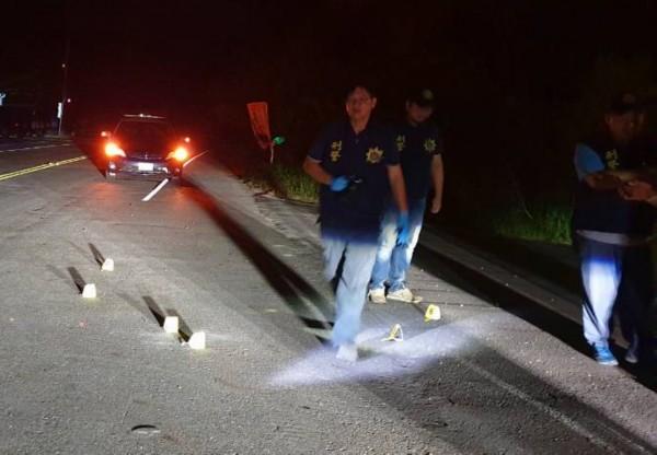 張榮志老家前傳爆裂物,警方調查釐清中。(記者蔡宗憲翻攝)