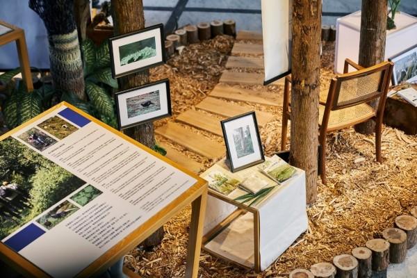 沒有校長一樣正常運作,台大舉辦90週年慶系列活動,於農業陳列館舉辦「山林校園特展」。(圖由台大提供)