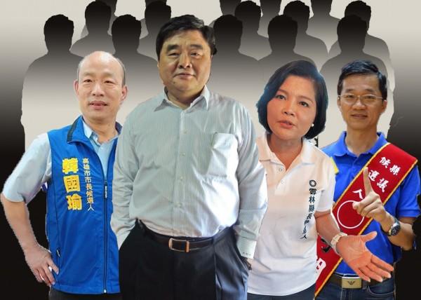 雲林張氏家族,五合一選舉通通包。(記者顏宏駿翻攝)