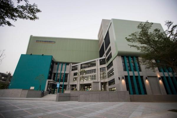新竹市竹光國民運動中心年底即將完工及試營運。(市府提供)
