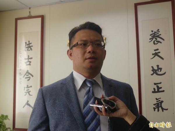 金門地檢署主任檢察官吳錦龍表示,檢警正陸續展開收網,呼籲賄選者,把握機會自首。(記者吳正庭攝)
