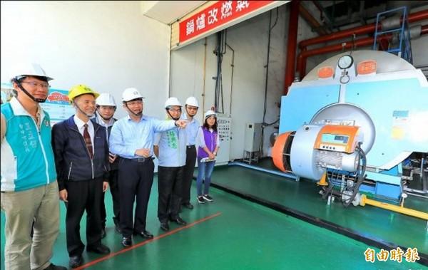 台中市政府拚減污,鍋爐不管噸數大小,全部納管。(資料照)