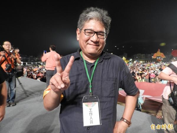 紙風車劇團執行長李永豐。(記者葛祐豪攝)