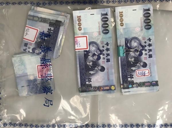 嘉義地檢署梅山鄉一舉查獲4件鄉民代表候選人、樁腳涉嫌現金買票案。(記者王善嬿翻攝)