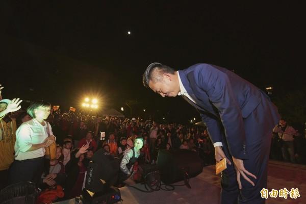 民進黨籍新竹市長林智堅此次高票連任,以近過半得票數贏了市長選舉,卻輸了市議員選舉,朝大野大的局面,將牽動林智堅的市政推動。(照片由林智堅競總提供)(記者洪美秀攝)