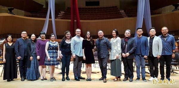 衛武營國家藝術文化中心明推出自製輕歌劇經典《憨第德》台灣首次全本演出。(記者陳文嬋攝)