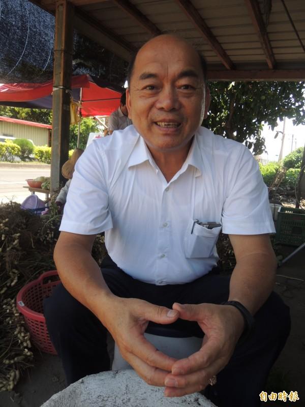 壯圍鄉長簡文魁被點名是農業處長熱門人選,他表示未獲徵詢。(記者江志雄攝)