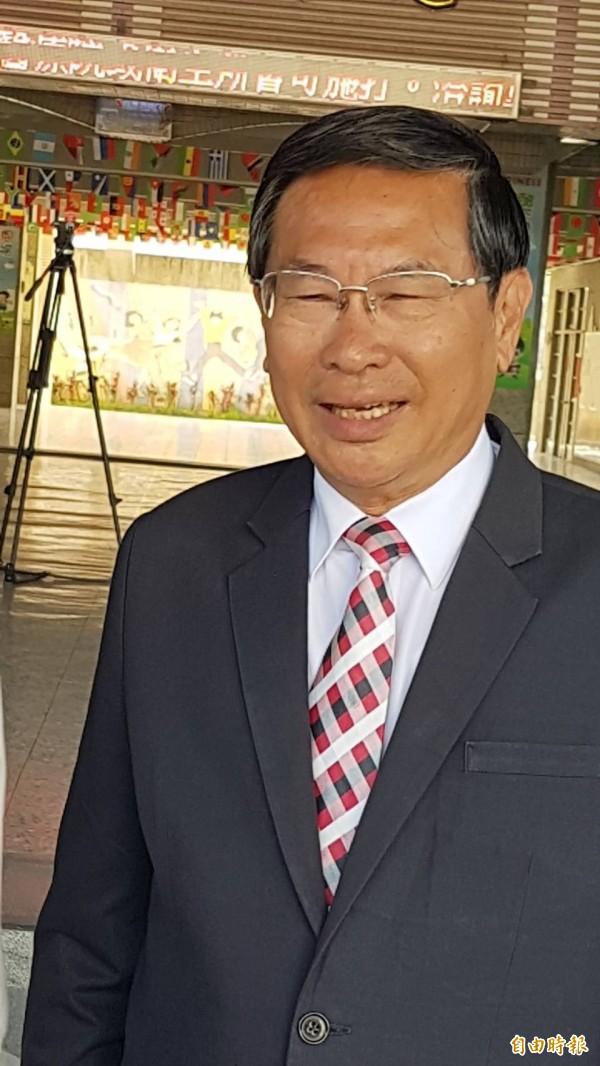 嘉義市長涂醒哲針鐵高的地方自籌款,批黃敏惠「只會出一張嘴,什麼都沒做」。(資料照)