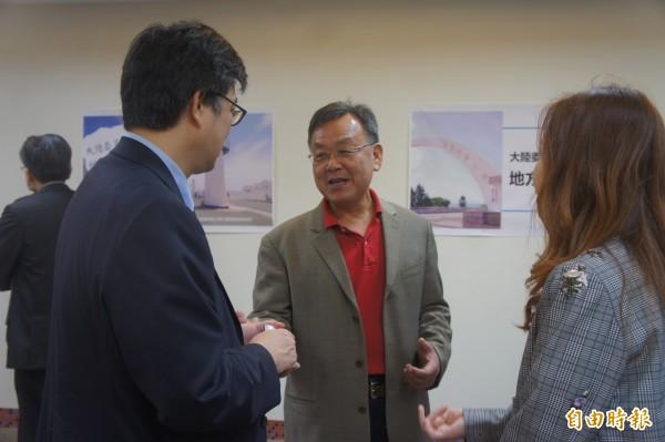 賴峰偉確定要去中國,成為今年九合一選舉後首位赴中的藍營縣市長當選人。(記者劉禹慶攝)