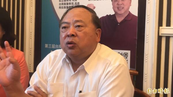 前台南市警察局長陳子敬確認出任台中市副市長一職。(資料照)
