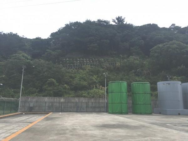 核一廠乾式貯存場。(新北市農業局提供)