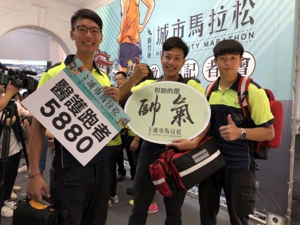 竹市城市馬拉松受到許多跑友歡迎。(記者蔡彰盛翻攝)