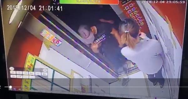被拘提到案的李女(右)、劉男(左)已經被法院裁定羈押。(圖由警方提供)