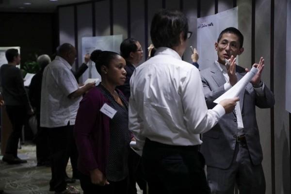 台美攜手邀集印太12國專家,共商防災應變整合。(取自AIT臉書專頁)