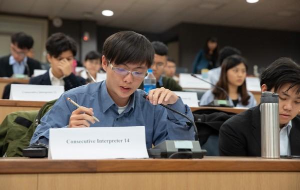 中興大學推口譯課程養成雙語並用人才。(圖:興大提供)