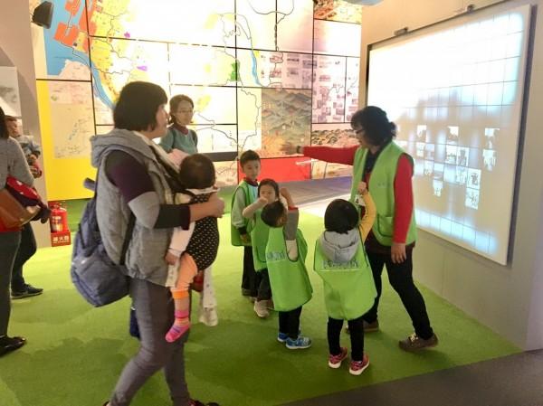 台中願景館以互動方式讓民眾認識台中。(圖由台中市政府提供)