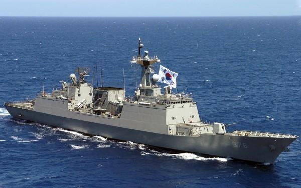 南韓海軍「廣開土大王級」驅逐艦。(取自「維基百科」)