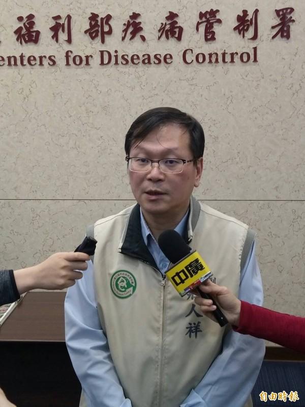 疾管署今天宣布,新到貨5萬劑公費流感疫苗。(記者吳亮儀攝)