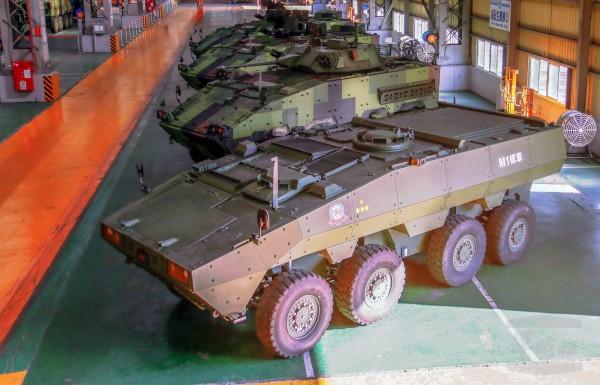 209廠生產的各式輪型甲車。(圖:軍聞社提供)